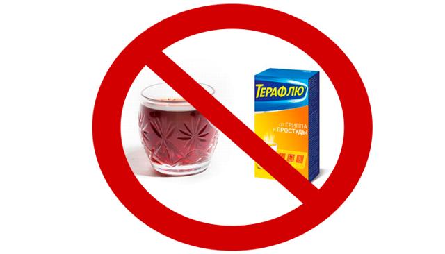 Терафлю и алкоголь: совместимость, последствия и побочные эффекты, через сколько можно