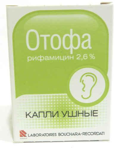 Ушные капли Отофа: инструкция по применению, аналоги, отзывы врачей