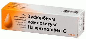 Эуфорбиум композитум: инструкция по применению, цена, отзывы о применении