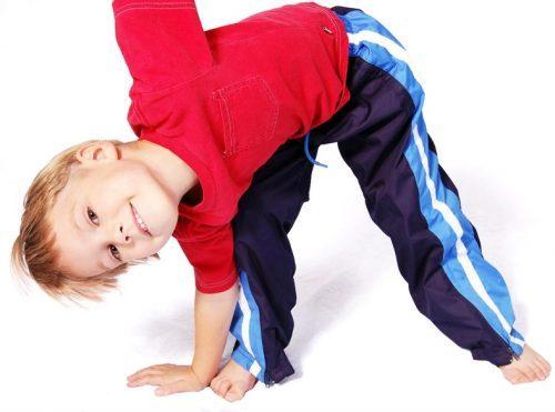 Физические упражнения для исправления нарушений осанки у детей