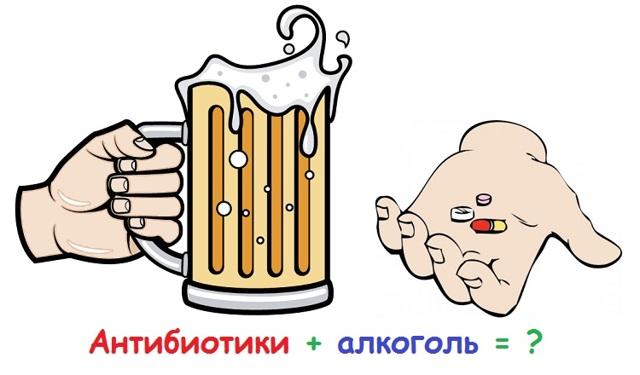 Что будет если смешать алкоголь и антибиотики: последствия, побочные эффекты