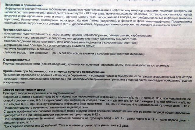 Цефотаксим: цена, инструкция по применению, отзывы, состав, аналоги