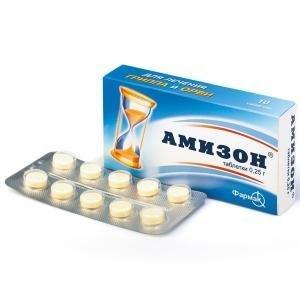 Таблетки Амизон: инструкция по применению, цена, аналоги, состав