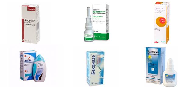 Сосудосуживающие капли в нос: лучшие для детей, разрешенные при беременности