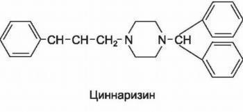 Циннаризин: инструкция по применению, цена, отзывы, аналоги препарата